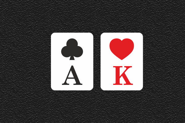 How to play AK starting hand