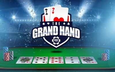 In the Grand Hand promotion at 888 Poker, a thousand dollars are played every day at SNAP tables