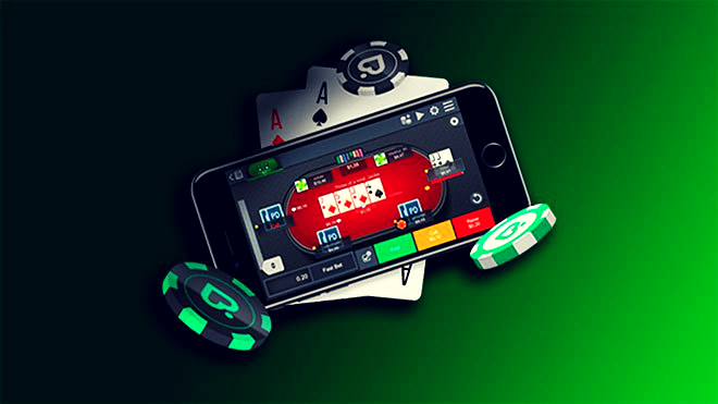 PokerDom on the phone